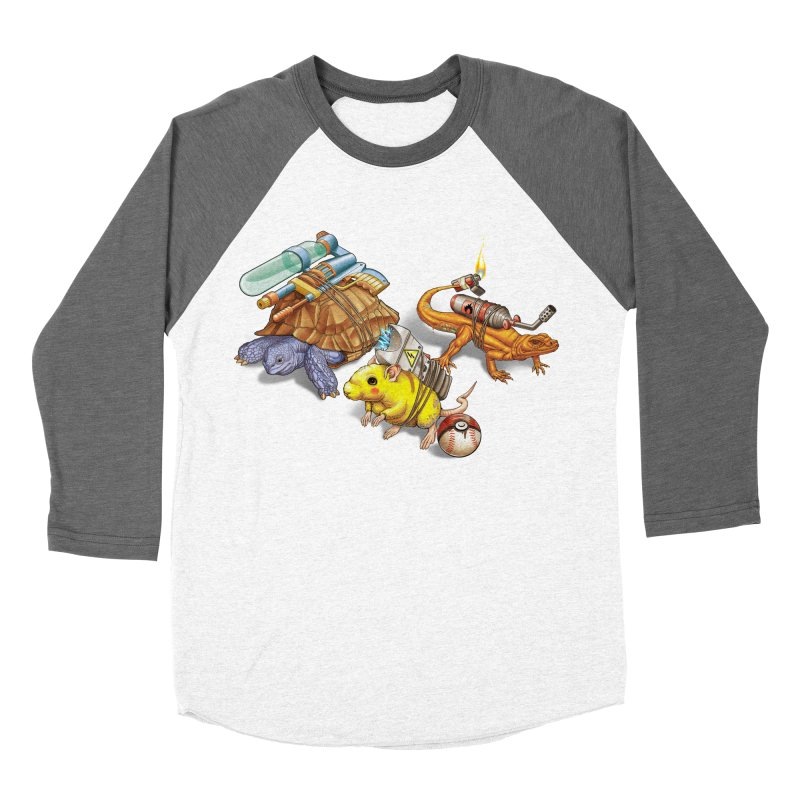 Real Pocket Monsters Men's Baseball Triblend T-Shirt by Tiago Möller Art Shop