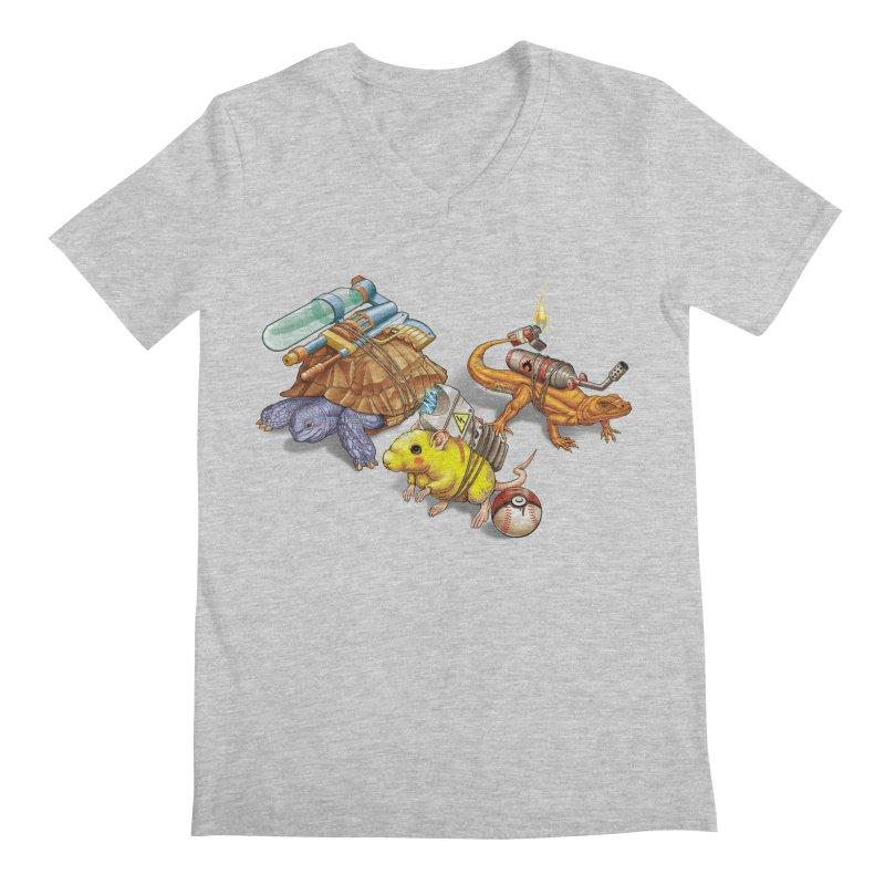 Real Pocket Monsters Men's V-Neck by T2U