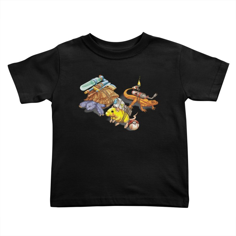 Real Pocket Monsters Kids Toddler T-Shirt by T2U