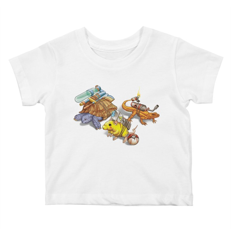 Real Pocket Monsters Kids Baby T-Shirt by T2U