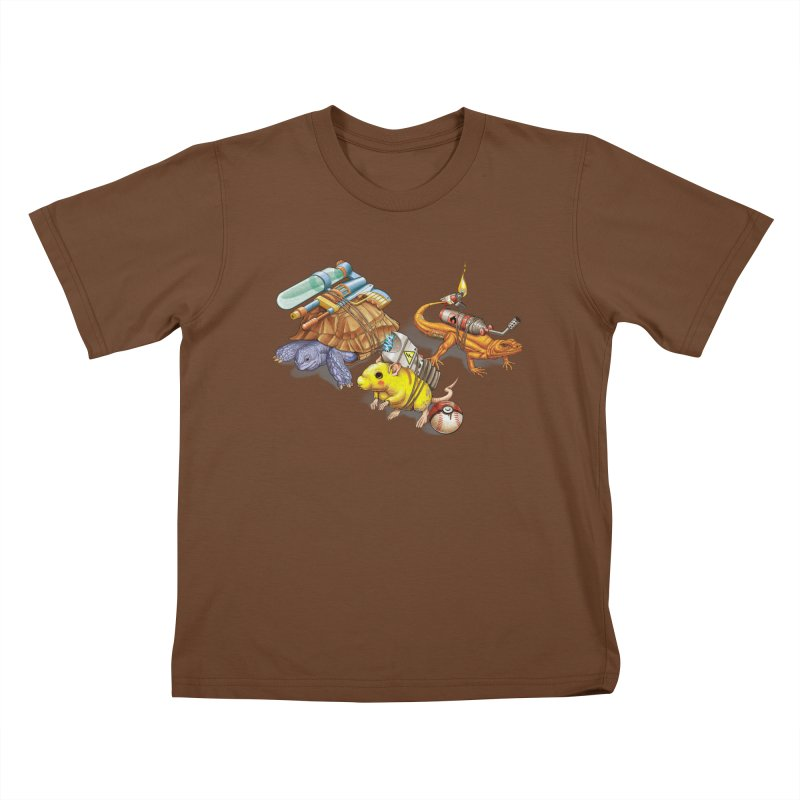 Real Pocket Monsters Kids T-Shirt by T2U