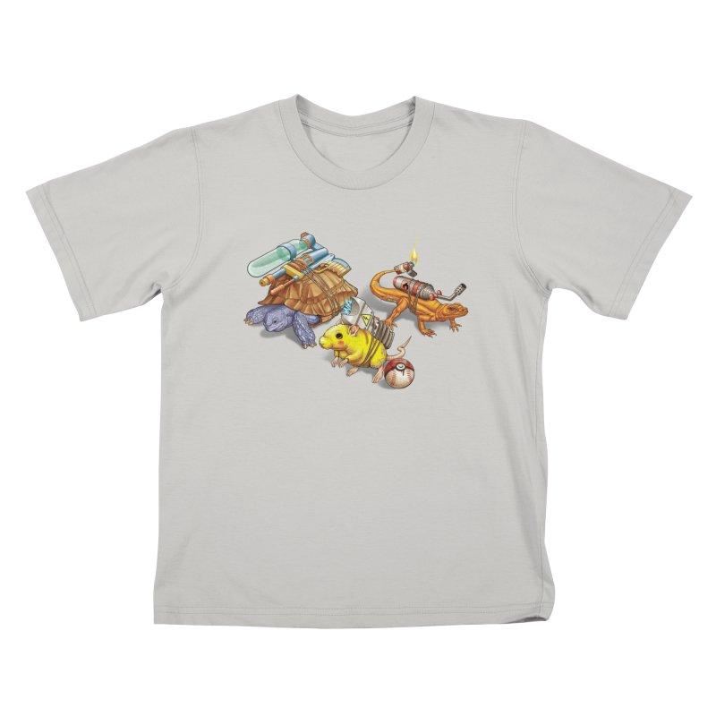 Real Pocket Monsters Kids T-shirt by Tiago Möller Art Shop