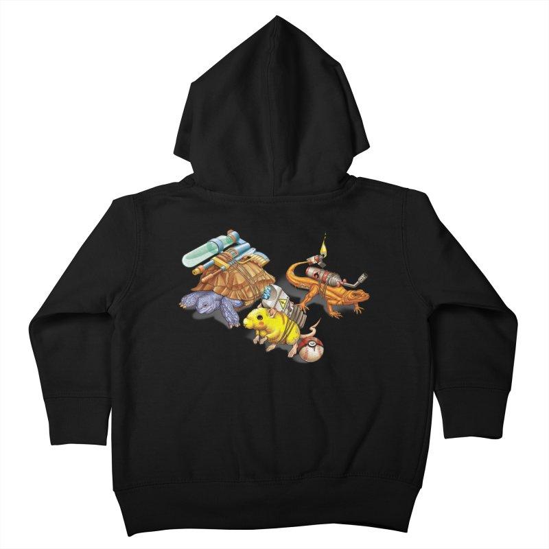 Real Pocket Monsters Kids Toddler Zip-Up Hoody by T2U