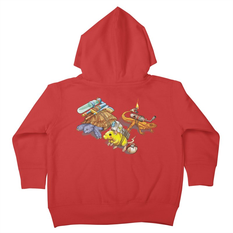 Real Pocket Monsters Kids Toddler Zip-Up Hoody by T2U