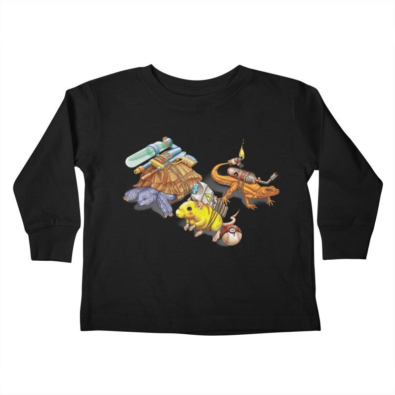 Real Pocket Monsters Kids Toddler Longsleeve T-Shirt by T2U