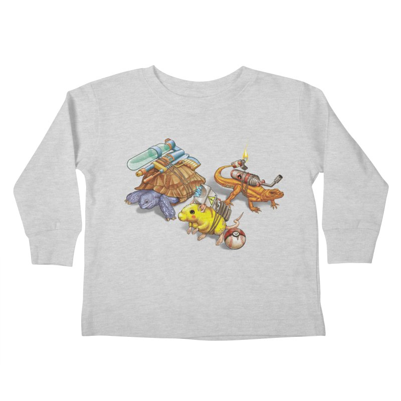Real Pocket Monsters Kids Toddler Longsleeve T-Shirt by T2U