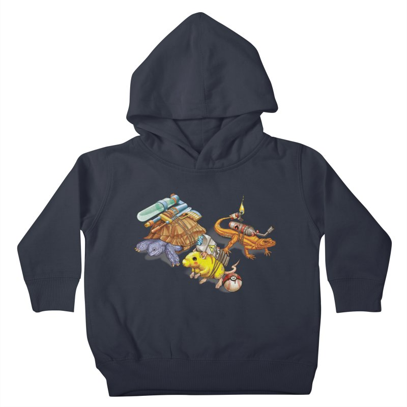 Real Pocket Monsters Kids Toddler Pullover Hoody by Tiago Möller Art Shop