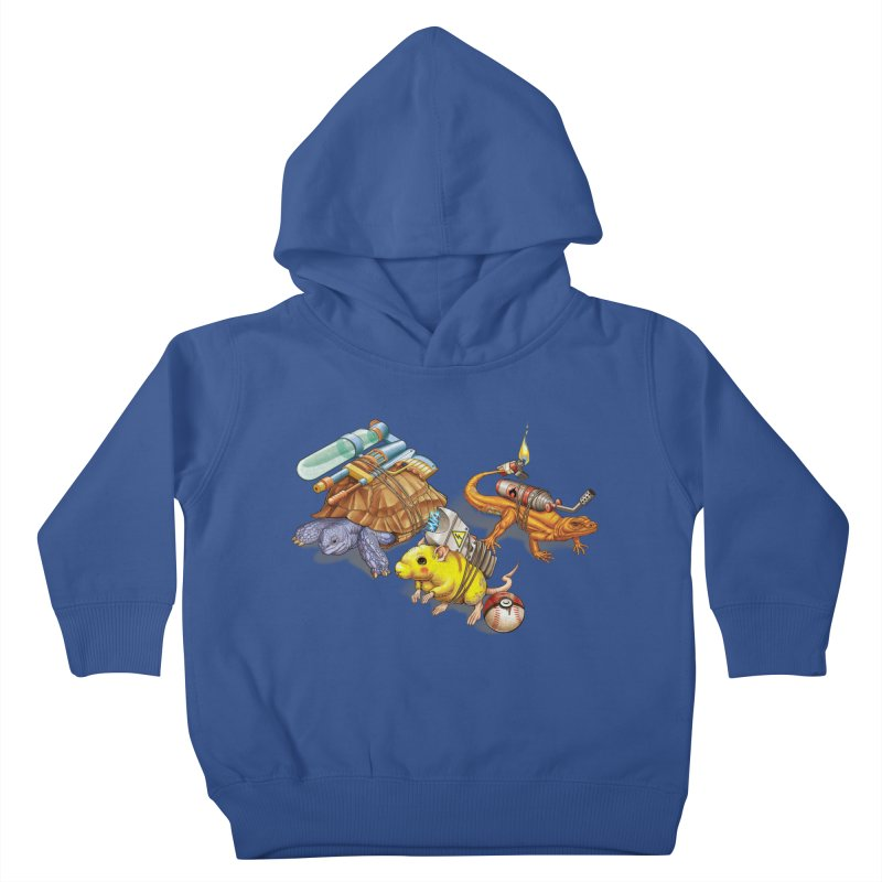 Real Pocket Monsters Kids Toddler Pullover Hoody by T2U