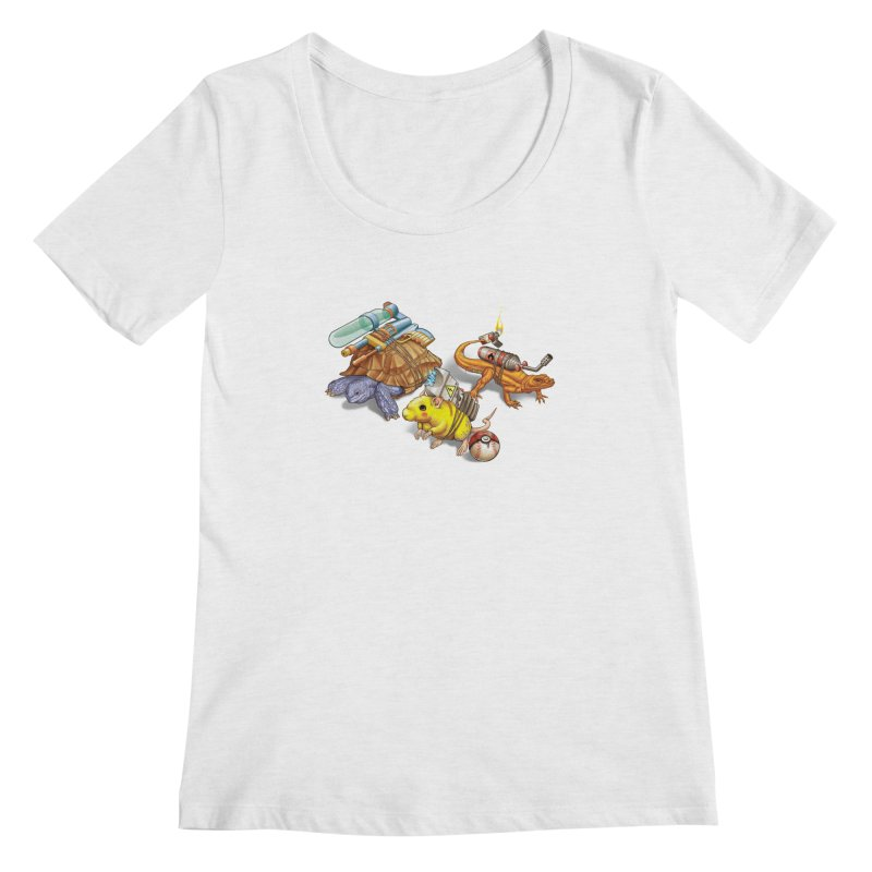 Real Pocket Monsters Women's Scoop Neck by T2U