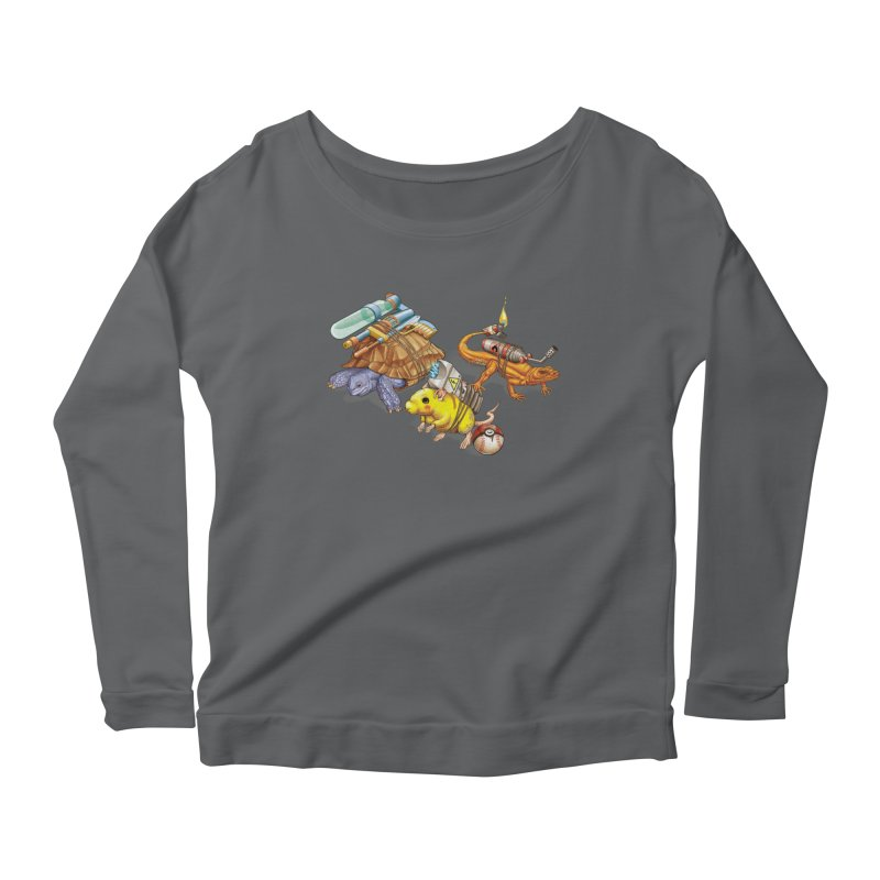 Real Pocket Monsters Women's Scoop Neck Longsleeve T-Shirt by T2U