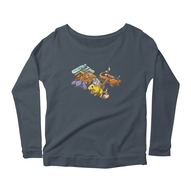 Real Pocket Monsters Women's Scoop Neck Longsleeve T-Shirt by T2U