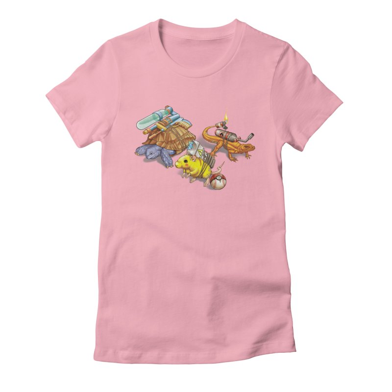 Real Pocket Monsters Women's Fitted T-Shirt by T2U