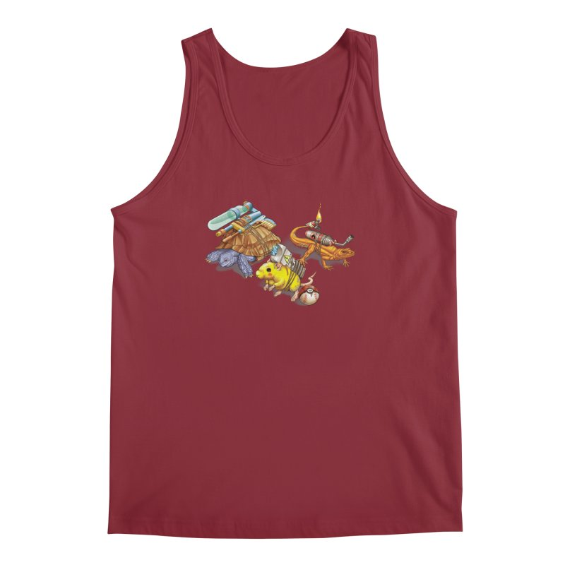 Real Pocket Monsters Men's Regular Tank by T2U