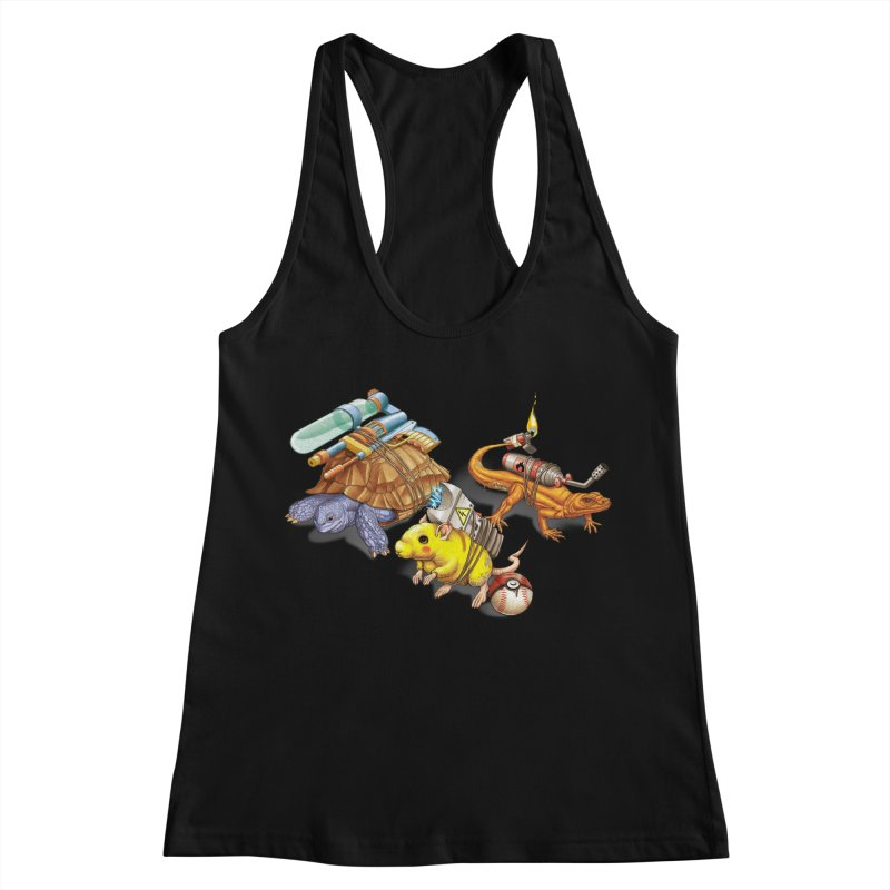 Real Pocket Monsters Women's Racerback Tank by T2U