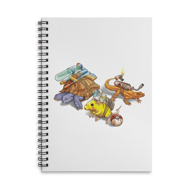 Real Pocket Monsters Accessories Lined Spiral Notebook by T2U