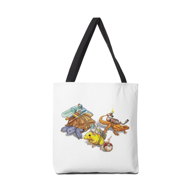 Real Pocket Monsters Accessories Tote Bag Bag by T2U