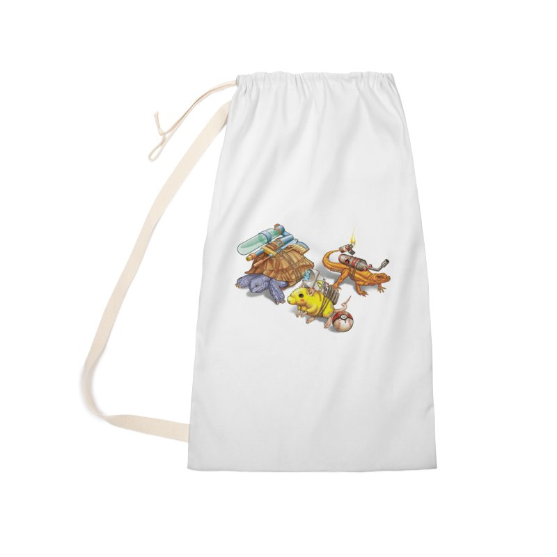 Real Pocket Monsters Accessories Laundry Bag Bag by T2U
