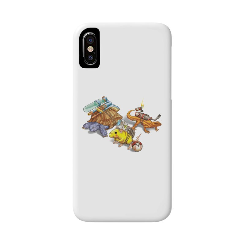 Real Pocket Monsters Accessories Phone Case by T2U