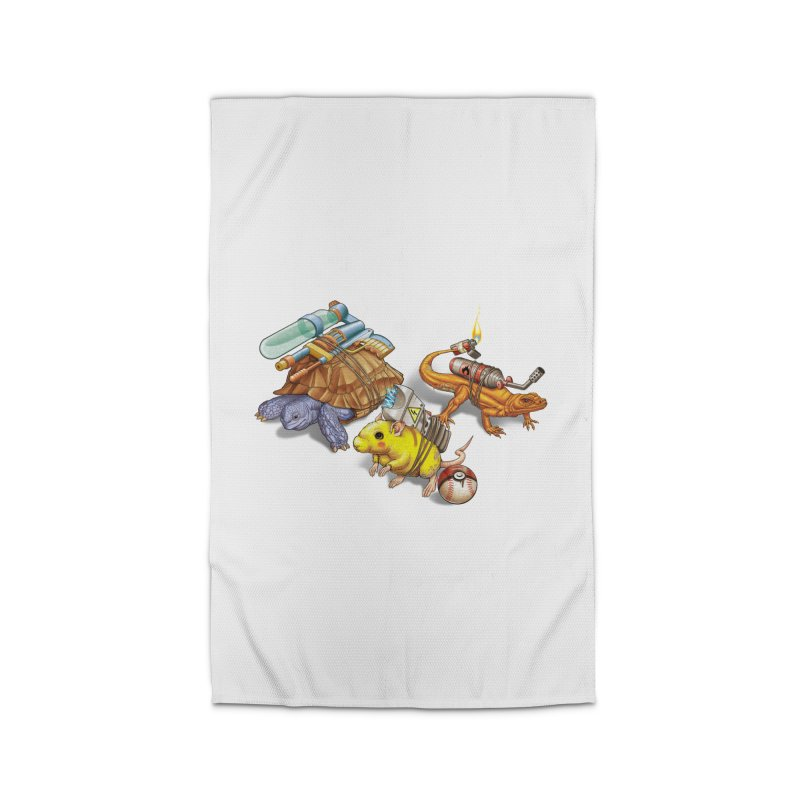 Real Pocket Monsters Home Rug by Tiago Möller Art Shop