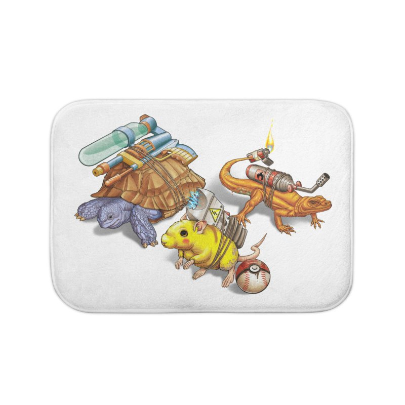 Real Pocket Monsters Home Bath Mat by T2U