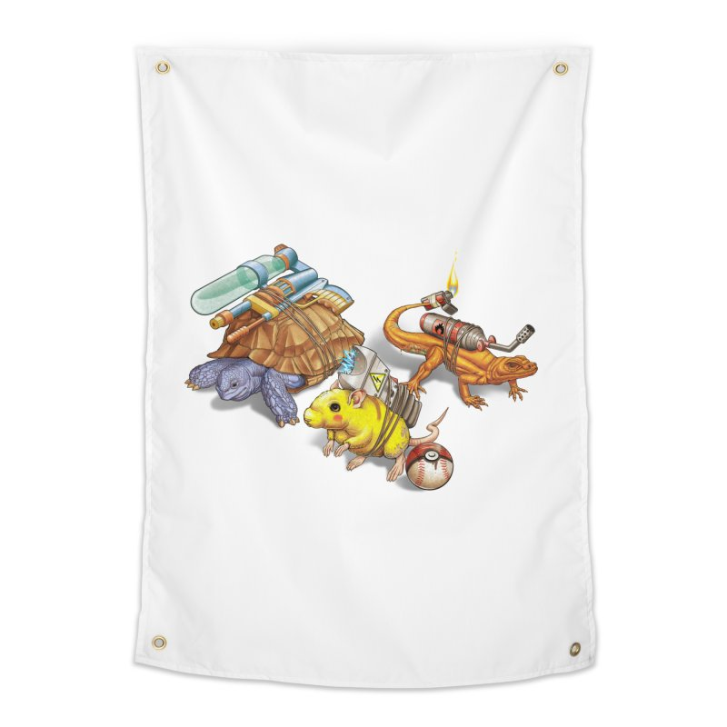 Real Pocket Monsters Home Tapestry by Tiago Möller Art Shop