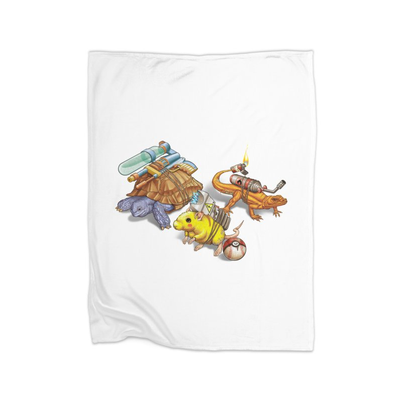 Real Pocket Monsters Home Fleece Blanket Blanket by T2U