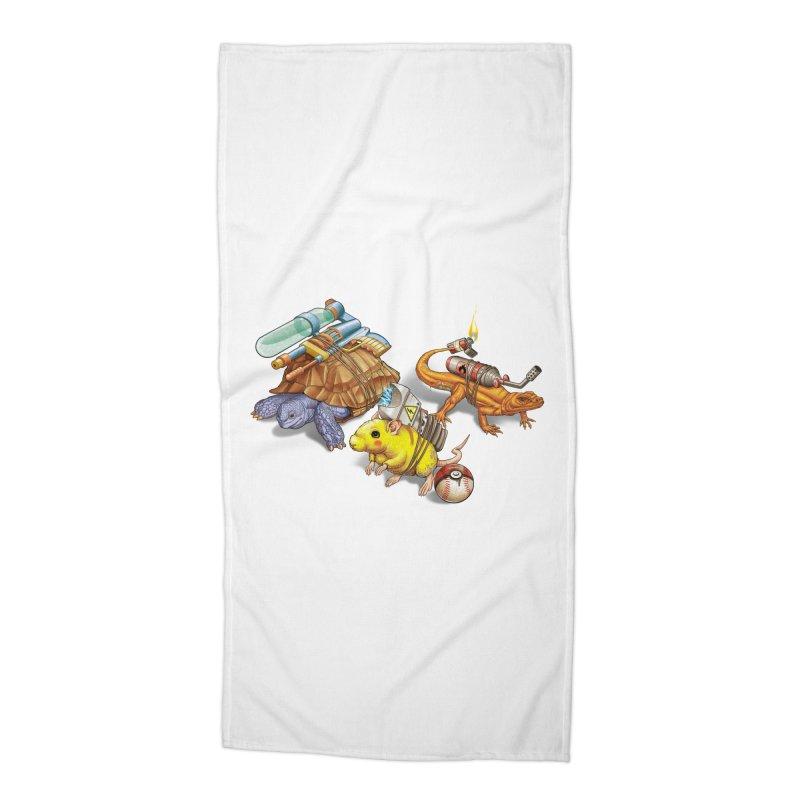 Real Pocket Monsters Accessories Beach Towel by T2U