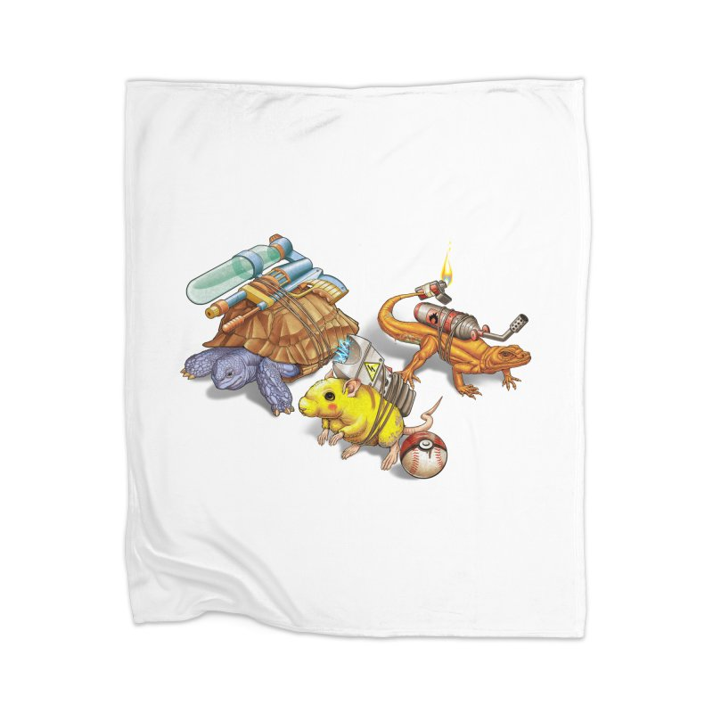 Real Pocket Monsters Home Blanket by T2U