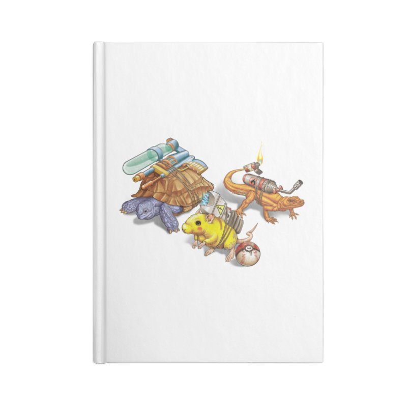 Real Pocket Monsters Accessories Blank Journal Notebook by T2U