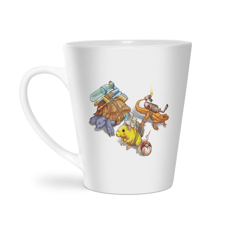 Real Pocket Monsters Accessories Latte Mug by T2U