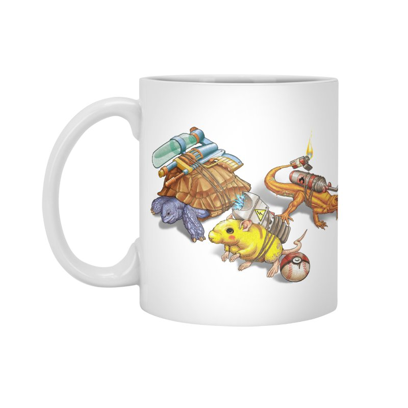 Real Pocket Monsters Accessories Standard Mug by T2U