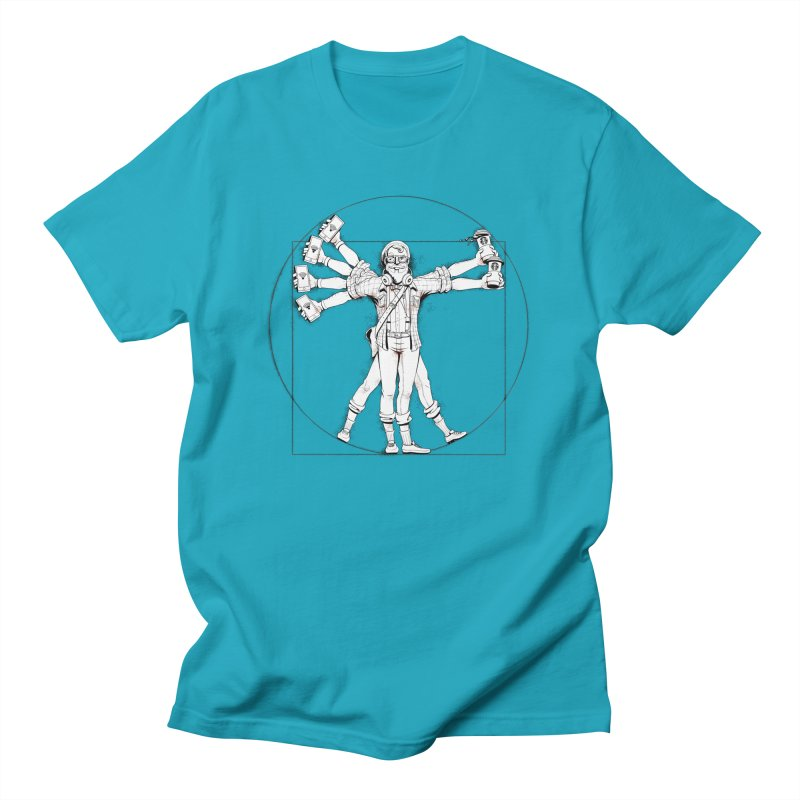 Hipstruvian Man Men's T-Shirt by T2U