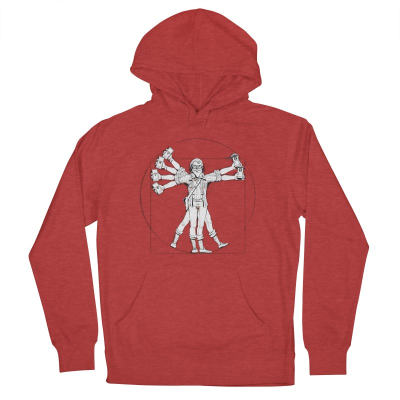 Hipstruvian Man Men's Pullover Hoody by T2U