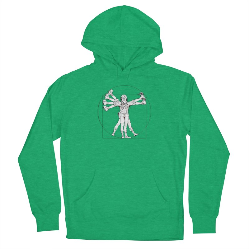 Hipstruvian Man Women's French Terry Pullover Hoody by T2U