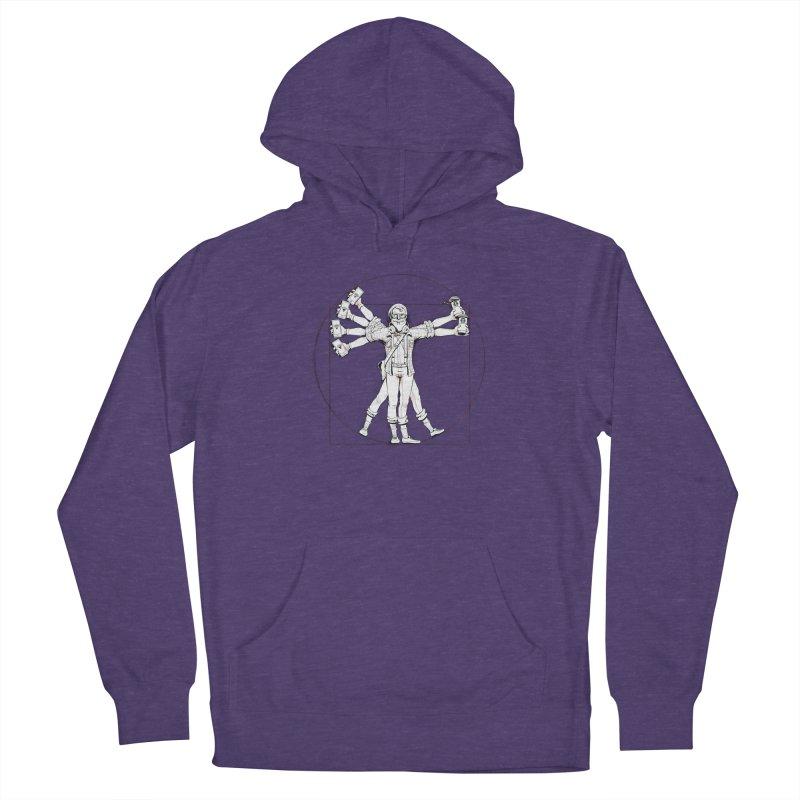 Hipstruvian Man Women's Pullover Hoody by T2U