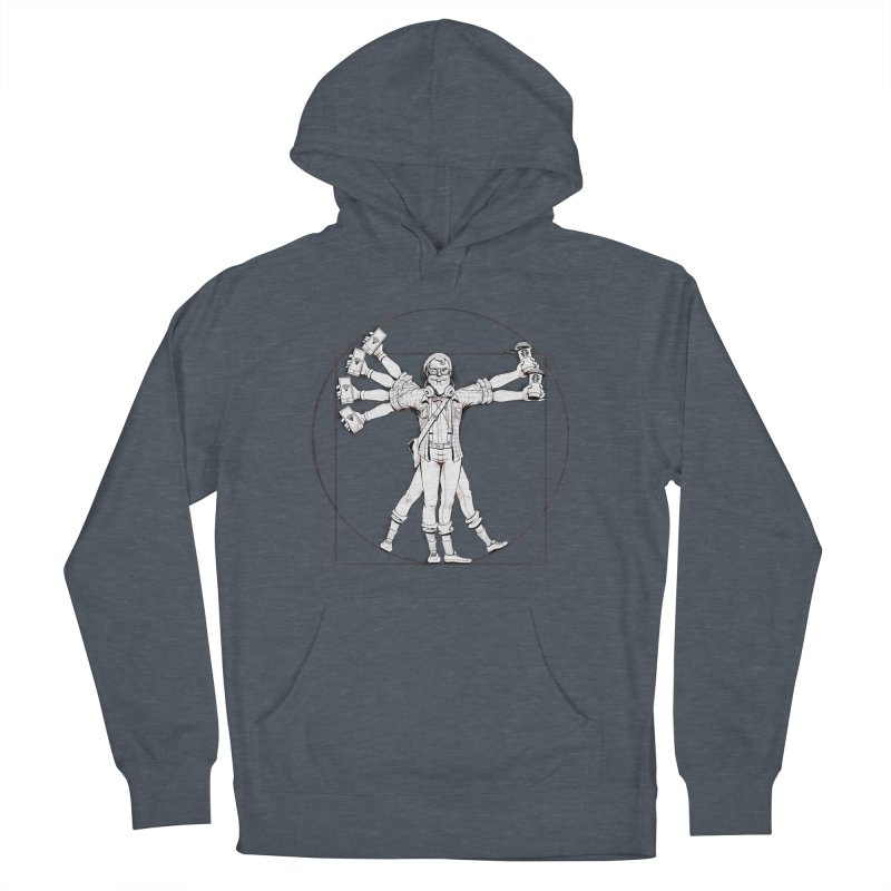 Hipstruvian Man Men's French Terry Pullover Hoody by T2U