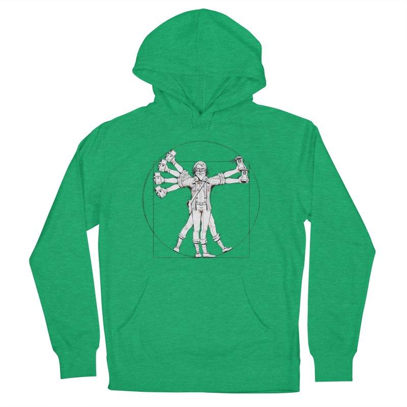 Hipstruvian Man Men's Pullover Hoody by T2U
