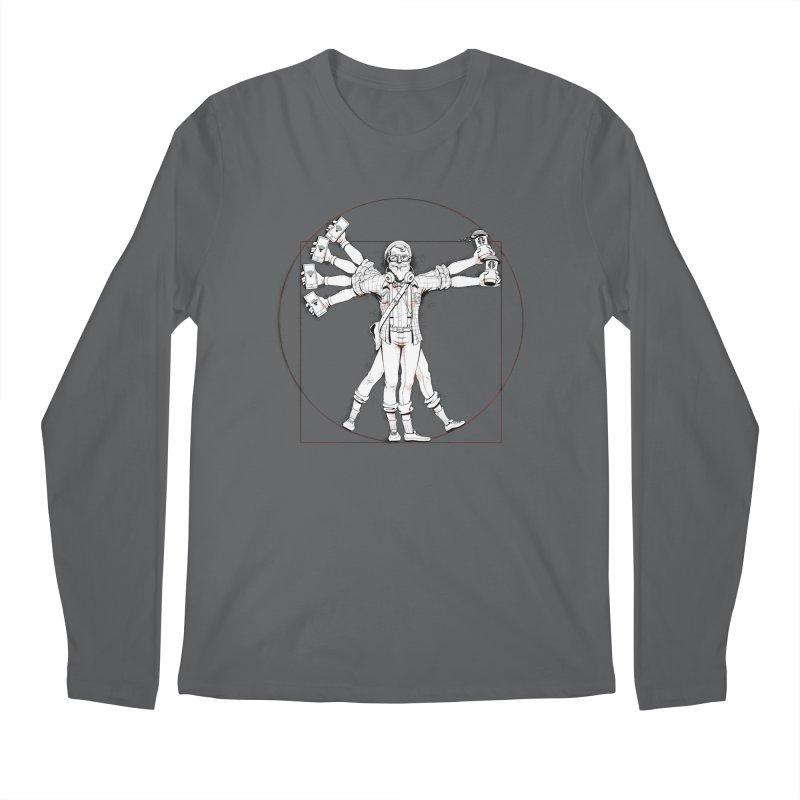 Hipstruvian Man Men's Longsleeve T-Shirt by T2U