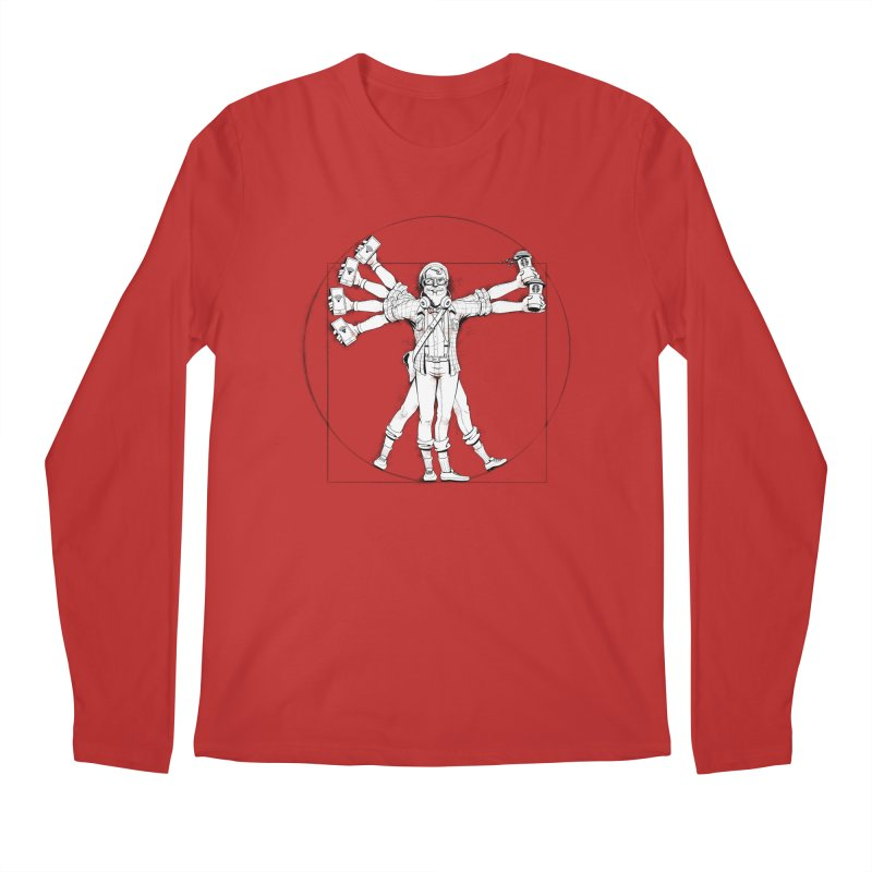 Hipstruvian Man Men's Regular Longsleeve T-Shirt by T2U