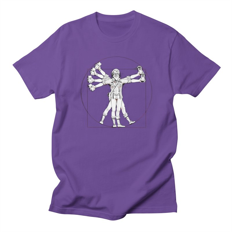Hipstruvian Man Men's T-Shirt by T2U