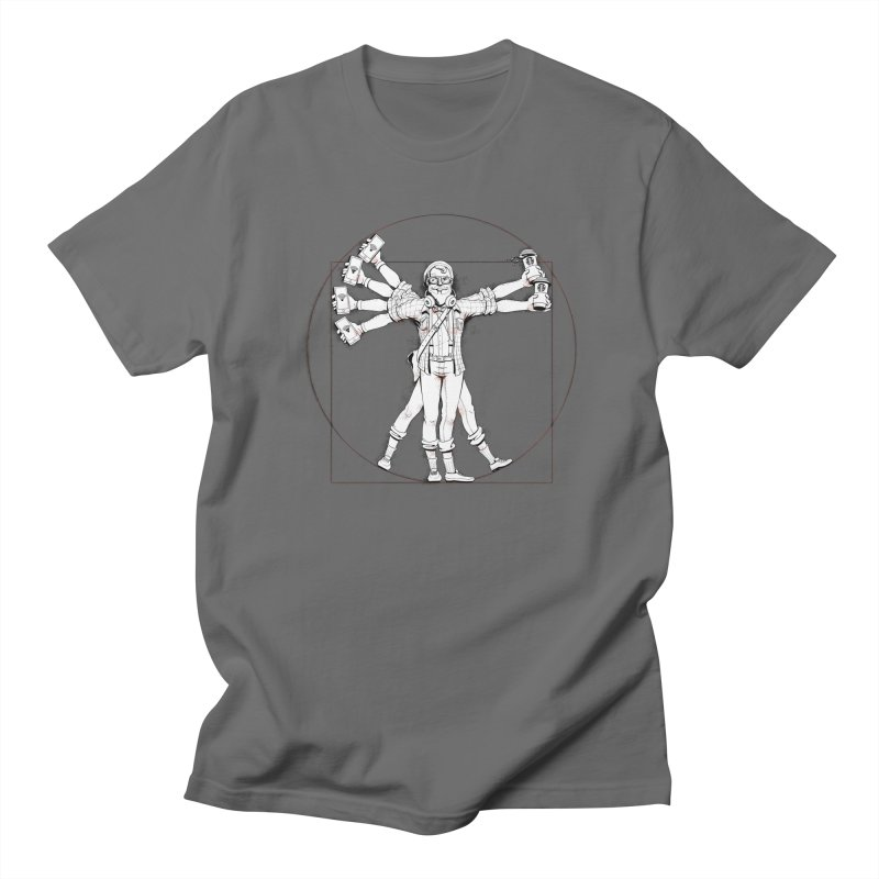 Hipstruvian Man Men's T-shirt by Tiago Möller Art Shop