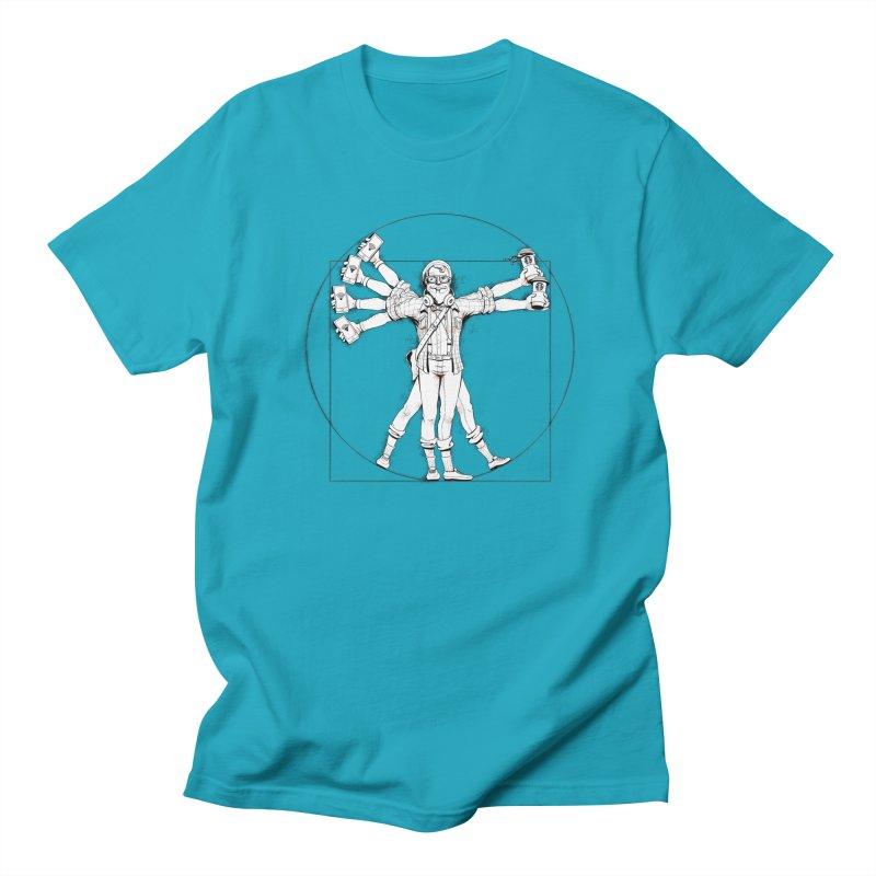 Hipstruvian Man Men's Regular T-Shirt by T2U