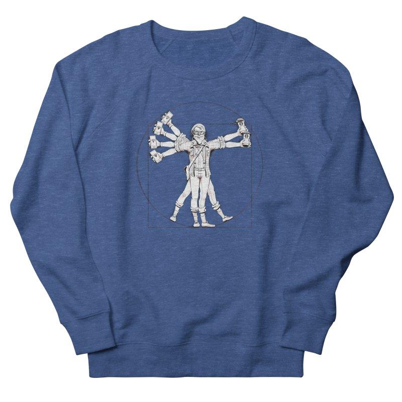 Hipstruvian Man Women's Sweatshirt by Tiago Möller Art Shop