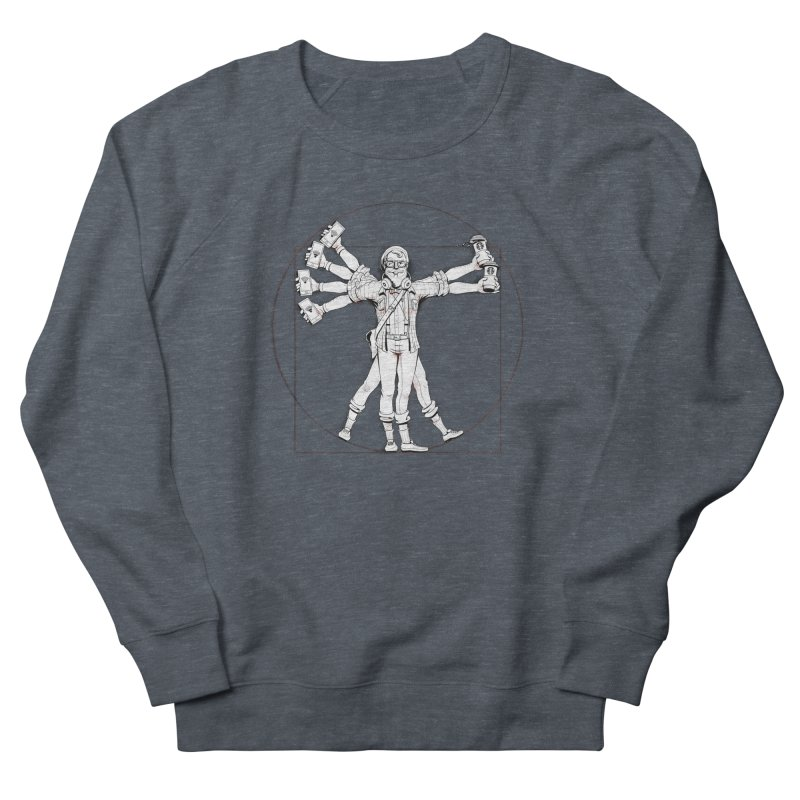 Hipstruvian Man Men's Sweatshirt by Tiago Möller Art Shop