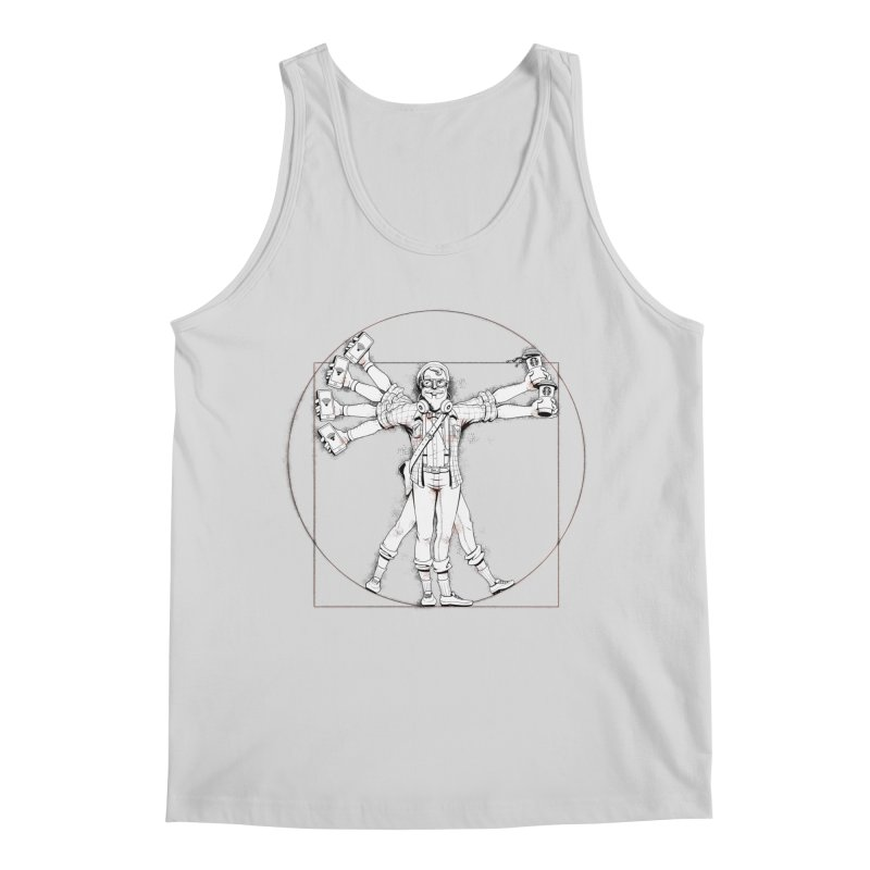 Hipstruvian Man Men's Tank by T2U