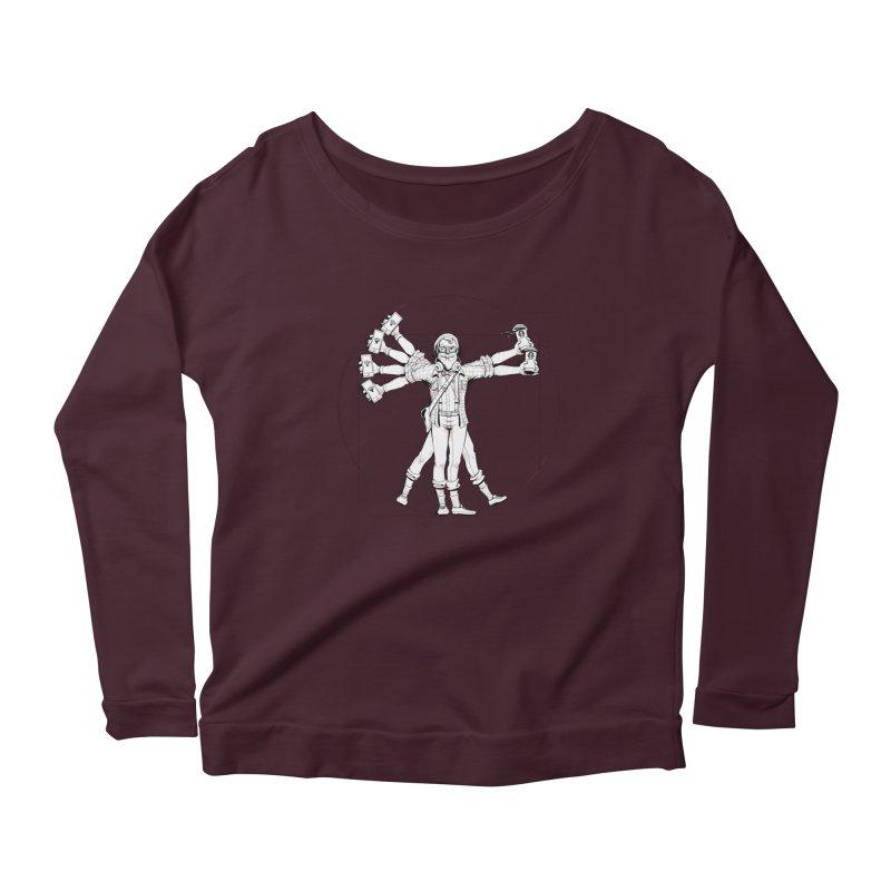 Hipstruvian Man Women's Longsleeve T-Shirt by T2U