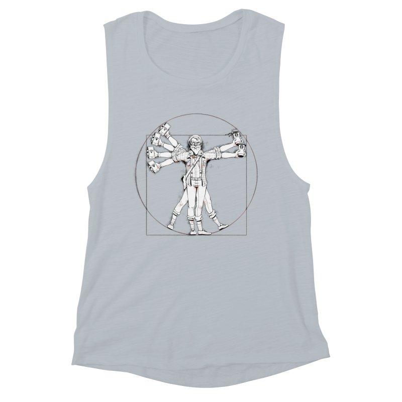 Hipstruvian Man Women's Muscle Tank by T2U