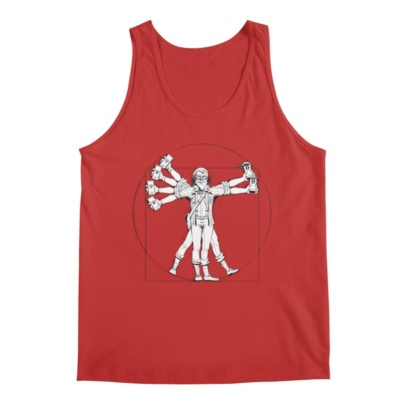 Hipstruvian Man Men's Regular Tank by T2U