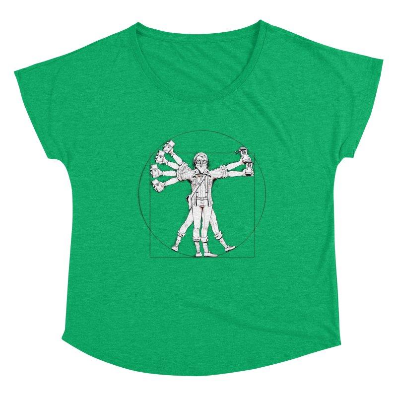 Hipstruvian Man Women's Scoop Neck by T2U