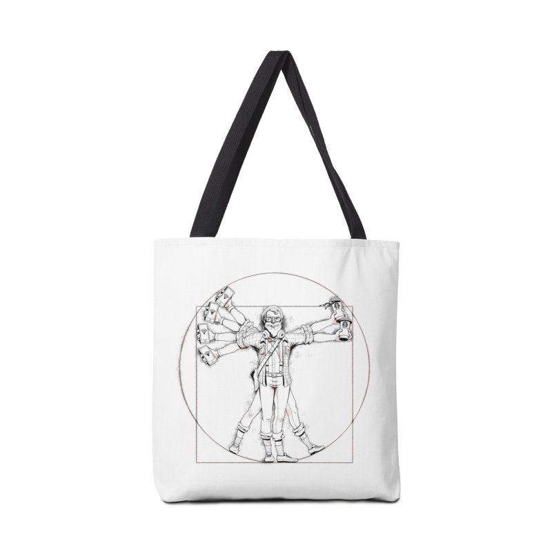 Hipstruvian Man Accessories Tote Bag Bag by T2U